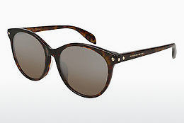 Ophthalmic Glasses Alexander McQueen AM0125SK 002 - Brown, Havanna