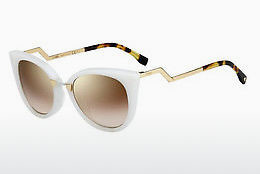 Ophthalmic Glasses Fendi FF 0118/S XU3/QH - White, Gold