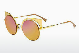 Ophthalmic Glasses Fendi FF 0177/S 001/OJ - Yellow, Gold
