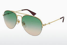 Ophthalmic Glasses Gucci GG0107S 006 - Gold
