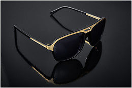 Ophthalmic Glasses JB by Jerome Boateng (Limited Edition) (JBS102 1) - Black, Gold