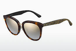 Ophthalmic Glasses Jimmy Choo CADE/F/S OCY/FQ - Brown, Havanna
