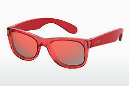 Ophthalmic Glasses Polaroid Kids P0115 6XQ/OZ - Red