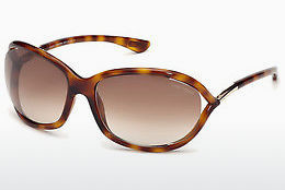 Ophthalmic Glasses Tom Ford Jennifer (FT0008 52F) - Brown, Dark, Havana