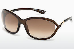 Ophthalmic Glasses Tom Ford Jennifer (FT0008 692) - Brown, Dark, Shiny