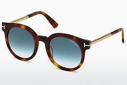 Ophthalmic Glasses Tom Ford Janina (FT0435 52P) - Brown, Dark, Havana