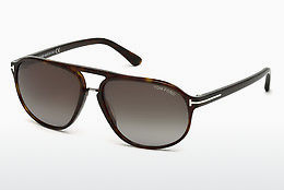 Ophthalmic Glasses Tom Ford Jacob (FT0447 52B) - Brown, Dark, Havana