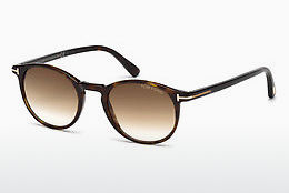 Ophthalmic Glasses Tom Ford Andrea (FT0539 52F) - Brown, Dark, Havana