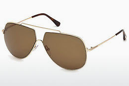 Ophthalmic Glasses Tom Ford FT0586 28E - Gold