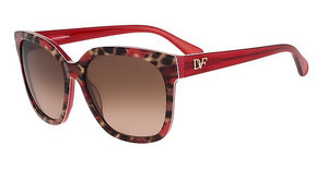 Diane von Fürstenberg DVF602S JULIANNA 615 RED ANIMAL