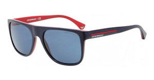 Emporio Armani EA4014 510380 BLUETOP BLUE ON RED
