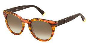 Max Mara MM MODERN II MC9/J6 BROWN SFSTRPD HVN (BROWN SF)
