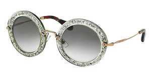 Miu Miu MU 13NS TKA1E0 LIGHT GREEN GRADIENTGREEN/SILVER
