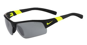 Nike SHOW X2 PRO EV0678 073 BLACK/VOLTAGE WITH GREY W/ SILVER FLASH/OUTDOOR LENS LENS