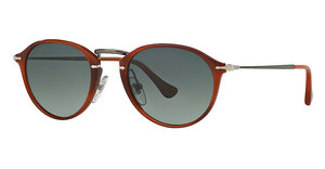 Persol PO3046S 957/71 CRYSTAL GRADIENT GRAYCORRUGATED BROWN