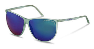 Porsche Design P8601 D green, blue mirroredgreen
