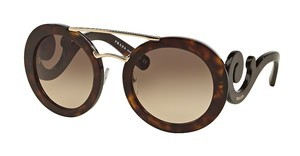 Prada PR 13SS 2AU3D0 LIGHT BROWN GRAD LIGHT GREYHAVANA