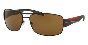 Prada Sport PS 53NS UEA5Y1 POLAR BROWNBROWN RUBBER