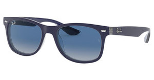Ray-Ban Junior RJ9052S 70234L GREY GRADIENT BLUEMATTE BLUE ON TRASPARENT