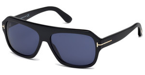 Tom Ford FT0465 01V blauschwarz glanz