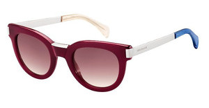 Tommy Hilfiger TH 1379/S QEI/XK BURGUNDY SFBRGND PLD (BURGUNDY SF)