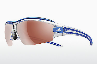 Ophthalmic Glasses Adidas Evil Eye Halfrim Pro L (A167 6074) - White, Blue