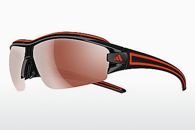 Ophthalmic Glasses Adidas Evil Eye Halfrim Pro S (A168 6068) - Silver, Black, Orange