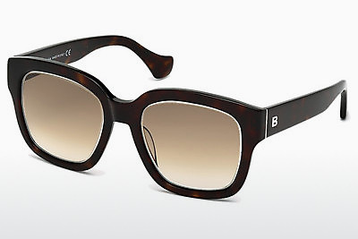 Ophthalmic Glasses Balenciaga BA0050 52F - Brown, Dark, Havana
