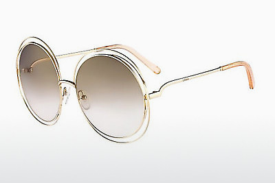 Ophthalmic Glasses Chloé CE114S 724 - Gold, Transparent
