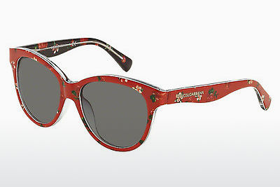 Ophthalmic Glasses Dolce & Gabbana MATT SILK (DG4176 298787) - Flowers, Red