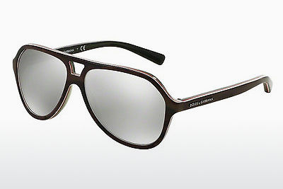 Ophthalmic Glasses Dolce & Gabbana STRIPES (DG4201 29526G) - Black, Brown
