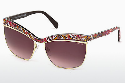 Ophthalmic Glasses Emilio Pucci EP0009 48T - Brown, Dark, Shiny