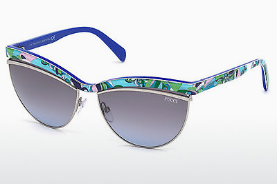 Ophthalmic Glasses Emilio Pucci EP0010 89W - Blue, Turquoise