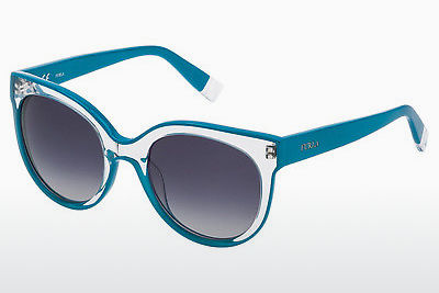 Ophthalmic Glasses Furla SFU070 06VA - Blue, Green