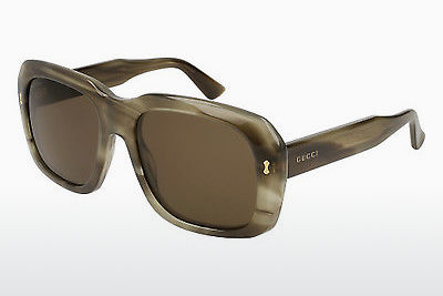Ophthalmic Glasses Gucci GG0049S 003 - Brown, Havanna