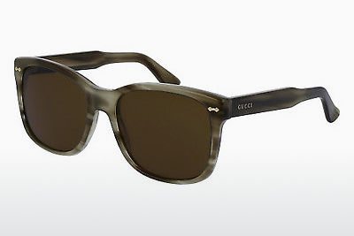 Ophthalmic Glasses Gucci GG0050S 003 - Brown, Havanna