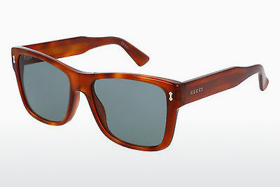 Ophthalmic Glasses Gucci GG0052S 002 - Brown, Havanna