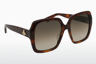 Ophthalmic Glasses Gucci GG0096S 002 - Brown, Havanna