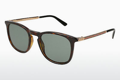 Ophthalmic Glasses Gucci GG0136S 002 - Brown, Havanna