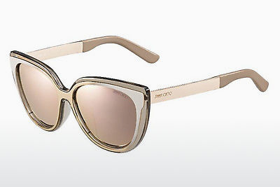 Ophthalmic Glasses Jimmy Choo CINDY/F/S 1RX/0J - Grey, White, Gold