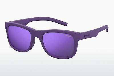 Ophthalmic Glasses Polaroid Kids PLD 8020/S 2Q1/MF - Purple