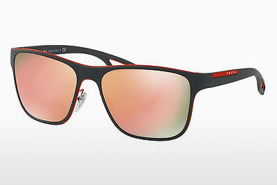 Ophthalmic Glasses Prada Sport LJ SILVER (PS 56QS VHL6Q2) - Orange, Grey