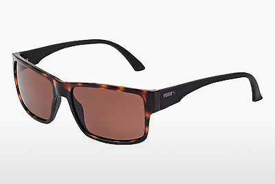 Ophthalmic Glasses Puma PU0015S 002 - Brown, Havanna