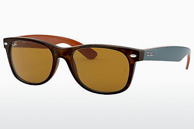 Ophthalmic Glasses Ray-Ban NEW WAYFARER (RB2132 6179) - Brown, Havanna
