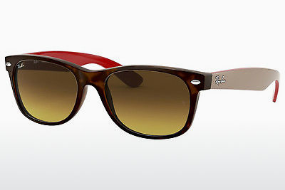Ophthalmic Glasses Ray-Ban NEW WAYFARER (RB2132 618185) - Brown, Havanna