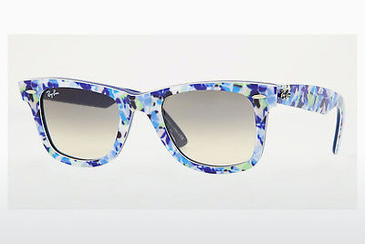 Ophthalmic Glasses Ray-Ban WAYFARER (RB2140 102132) - Blue, Green, Flowers