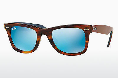 Ophthalmic Glasses Ray-Ban WAYFARER (RB2140 117617) - Brown, Havanna