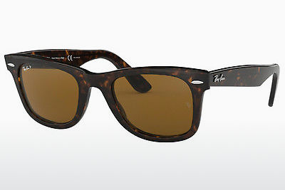 Ophthalmic Glasses Ray-Ban WAYFARER (RB2140 902/57) - Brown, Havanna