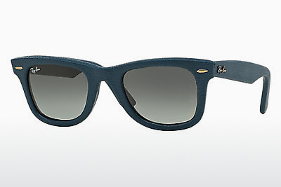 Ophthalmic Glasses Ray-Ban WAYFARER LEATHER (RB2140QM 116871) - Blue
