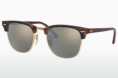 Ophthalmic Glasses Ray-Ban CLUBMASTER (RB3016 114530) - Brown, Havanna